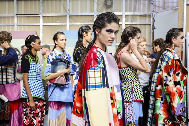 Go Backstage at Marni Spring Summer 2018 Show