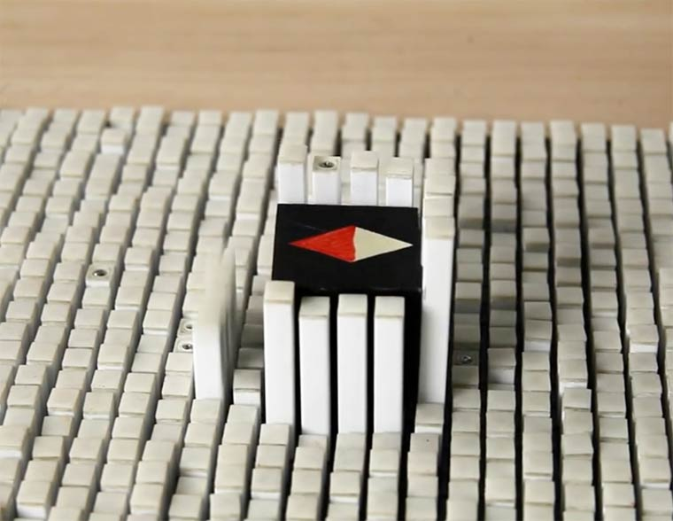 Kinetic Blocks – Moving objects remotely with this new tangible interface