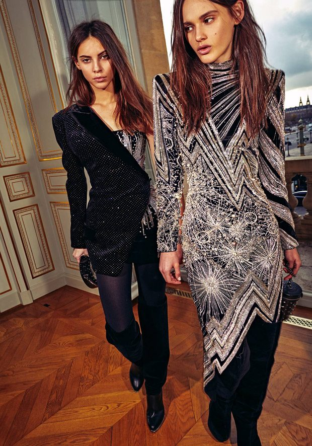 Discover BALMAIN Pre-Fall 2018 Womenswear Collection