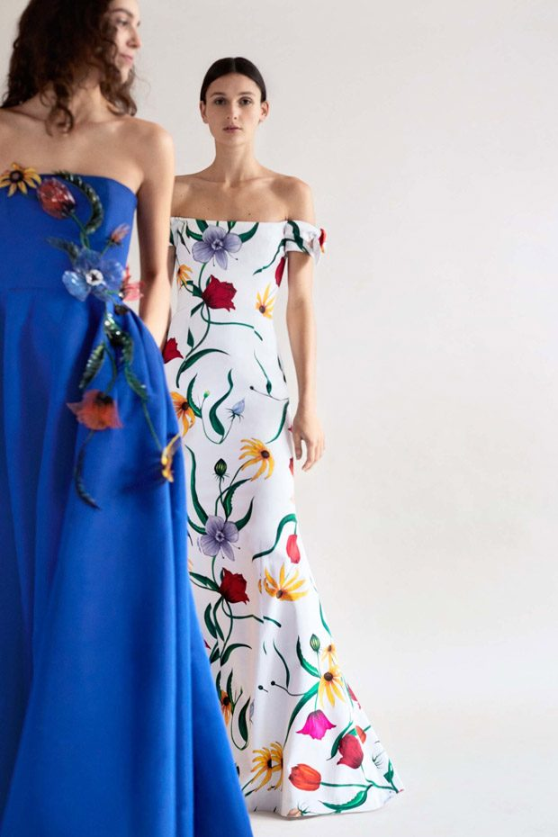 Carolina Herrera Pre-Fall 2018 Womenswear Collection