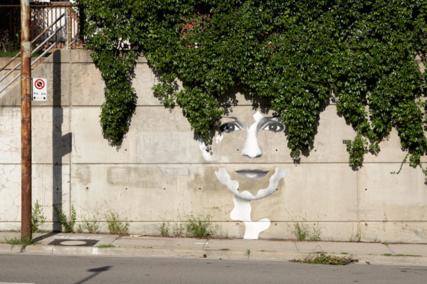 Street Artist - Dan Bergeron - Face of the City