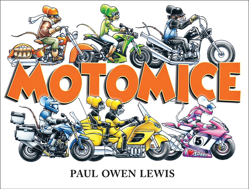 Детская мотокнига MotoMice