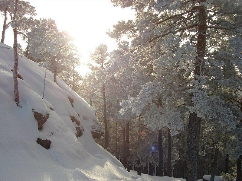 Красота зимней Зеренды. Автор- Евгения Шамрай. p06.jpg