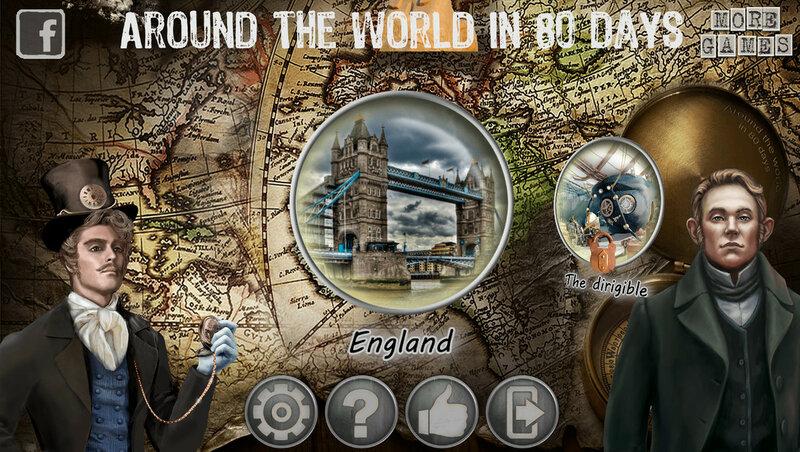 Hidden Object Adventure: Around the World in 80 Days