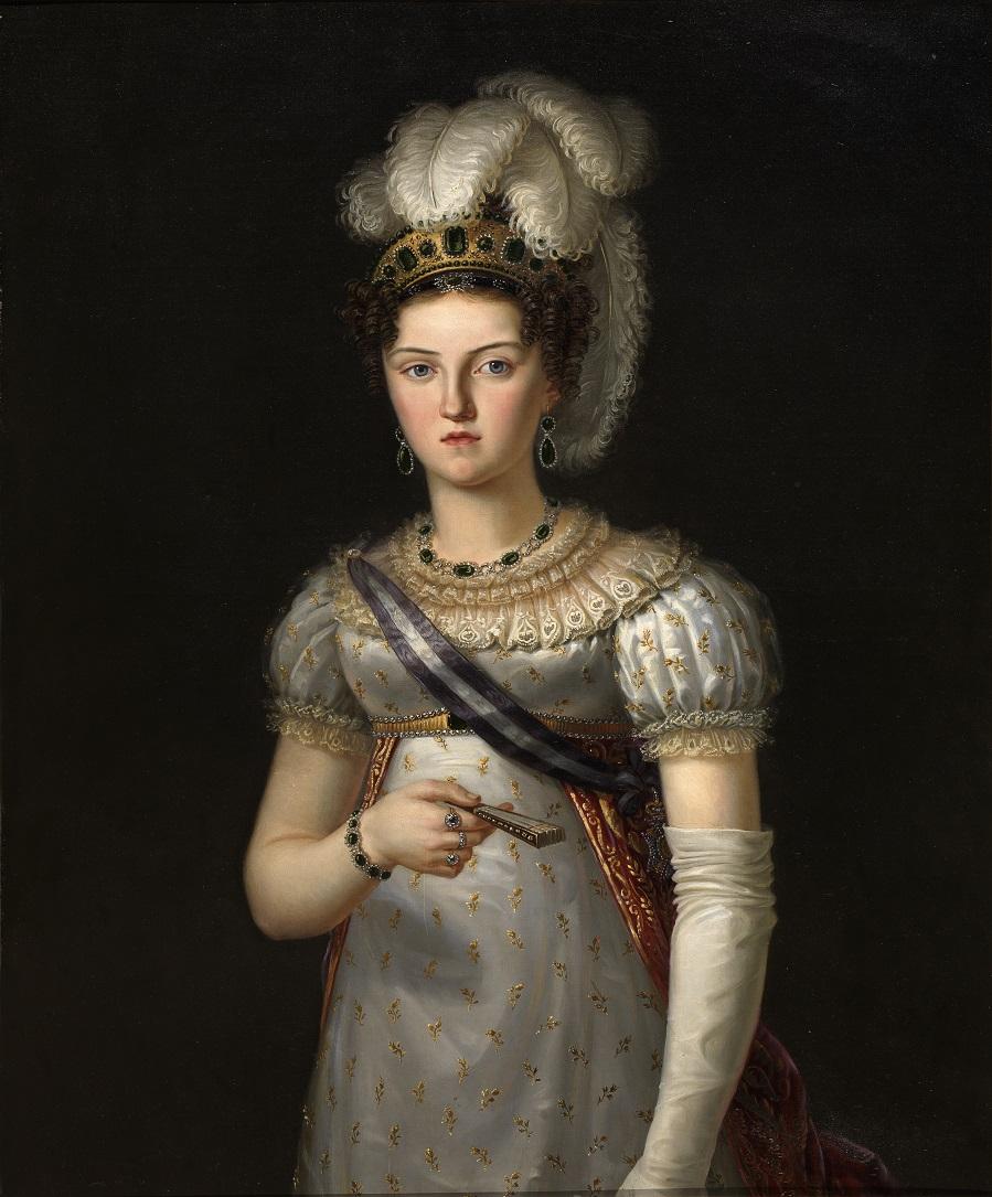 Мария Хосефа Амалия де Саджония, Терьера Эпоса де Фернандо VII.jpg