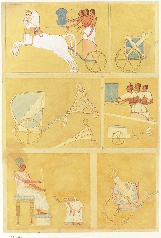 Рамсесум. Барельеф, вырезанный на первом пилястре храма Рамзеса II