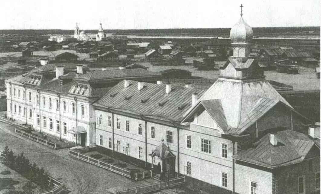 Церковь Иоанна Богослова(1899-1900) деревянная. 1900