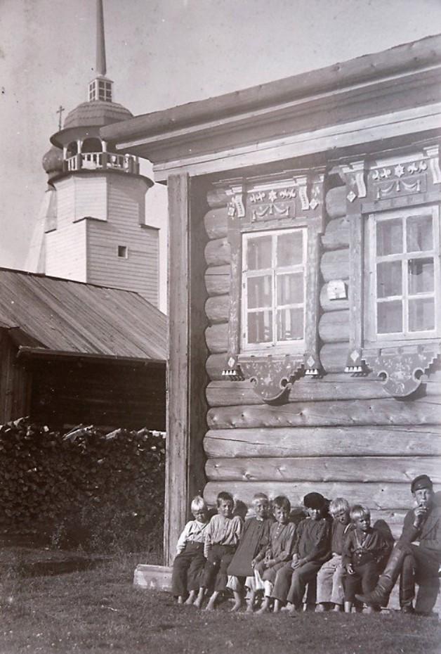 Окрестности Онеги. Село Малошуйка