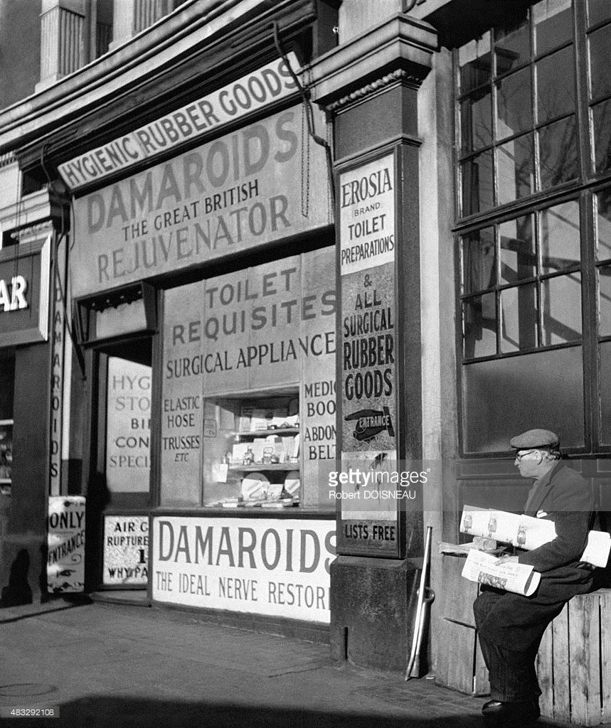 1950. Аптека в Лондоне