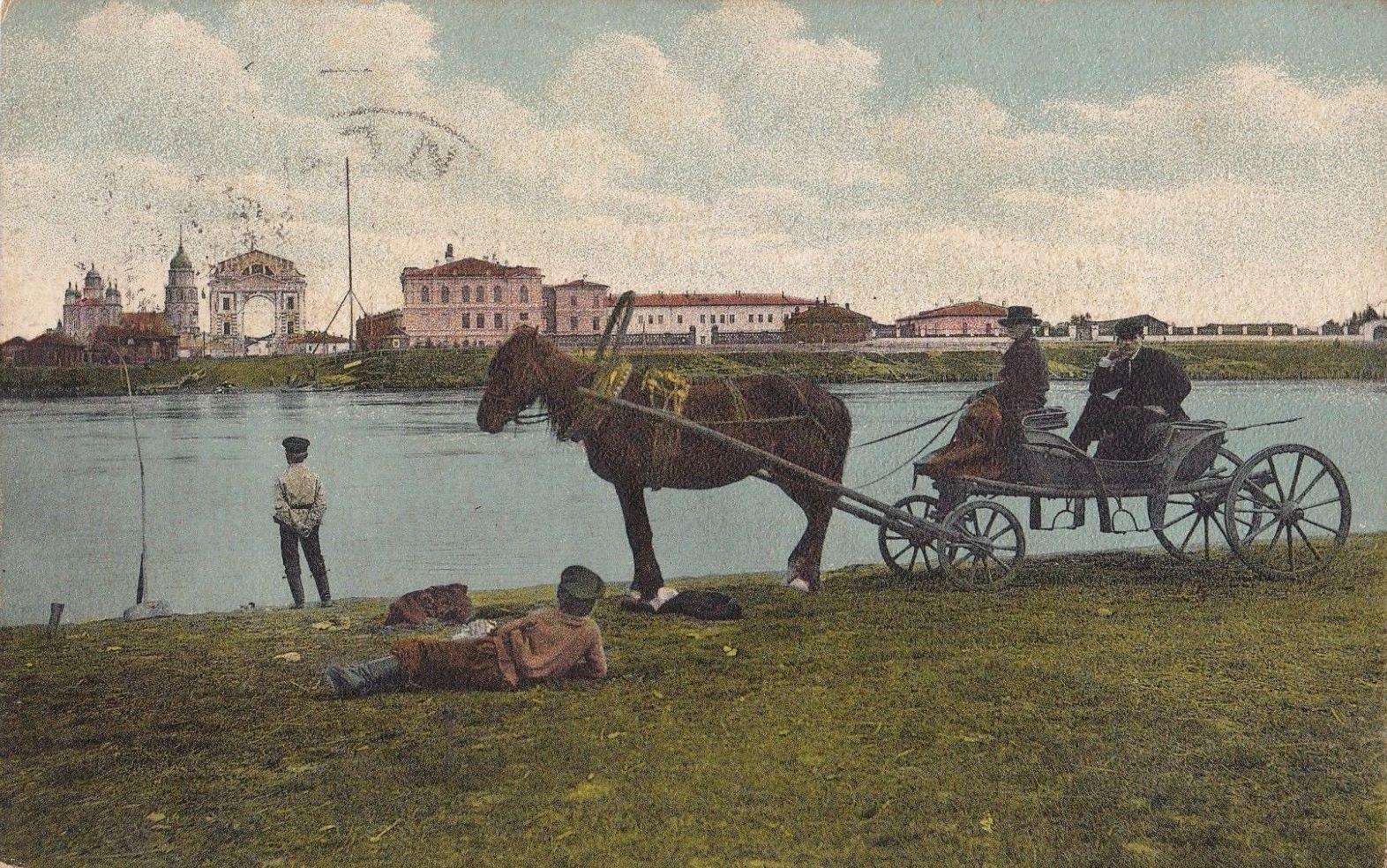 Река Ангара и Московские ворота