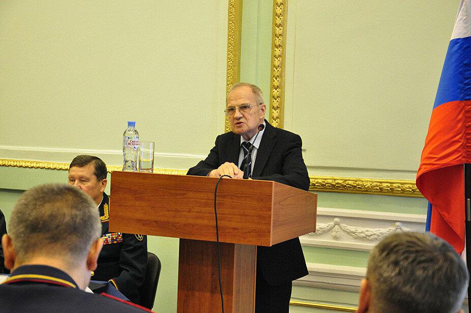 Председатель Конституционного суда России Зорькин принял участие в международной научно-практической конференции в Санкт-Петербурге 19 окт. 2017