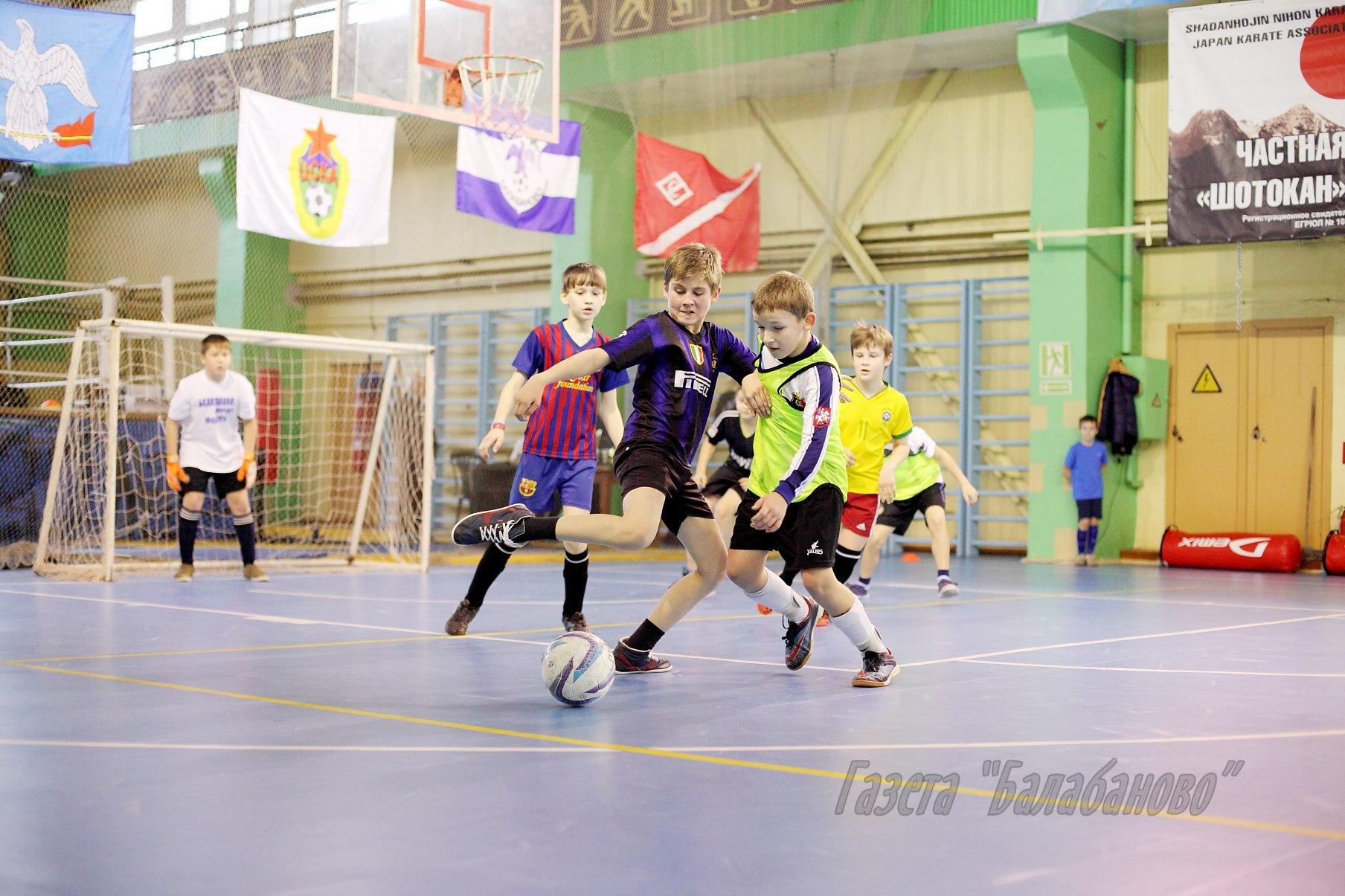В Балабанове проведут детско-юношеский турнир по мини-футболу на Кубок главы администрации муниципального образования