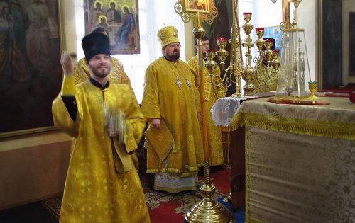 Архиерей, богослужение, Солигалич, храм, приход, епископ Галичский Алексий,