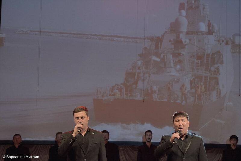 295-летие Каспийской флотилии