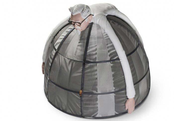 палатка с защитой от интернета