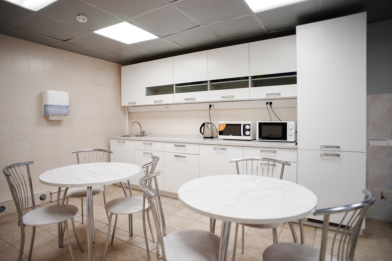 ТВ: зоны отдыха и кухни повышенной проходимости
