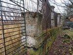 Ограда парка в районе Зверинских ворот из пудостского камня