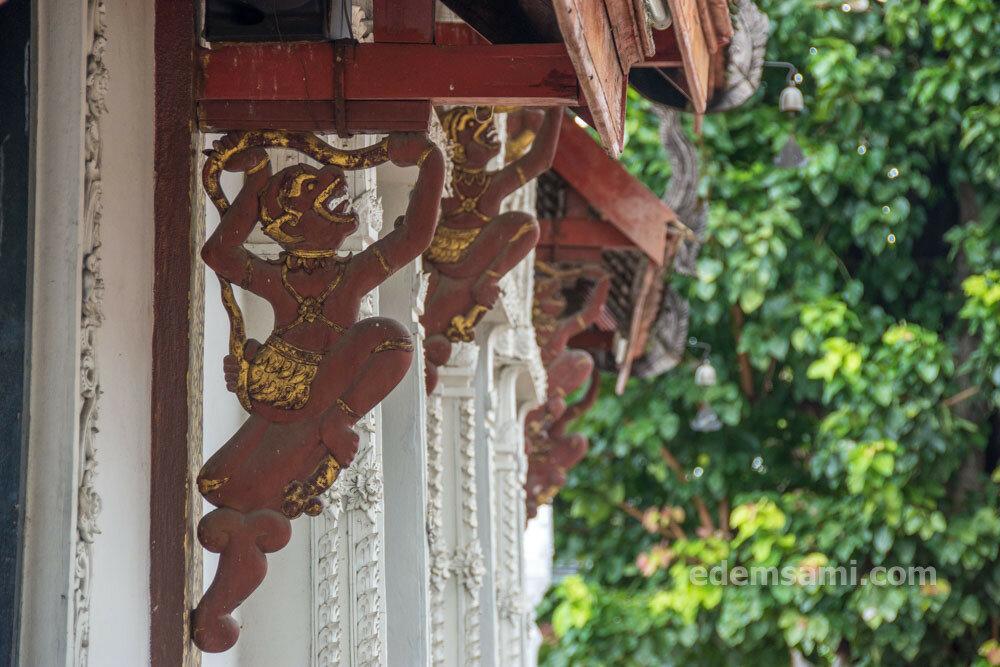 Лампанг храмы