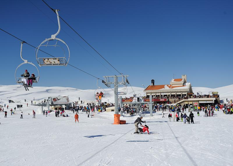 Гудаури - самый популярный горнолыжный курорт Грузии