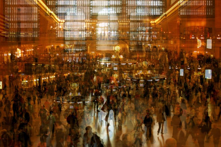 Суета мегаполиса в абстрактных фото итальянца Алессио Треротоли (24 фото)