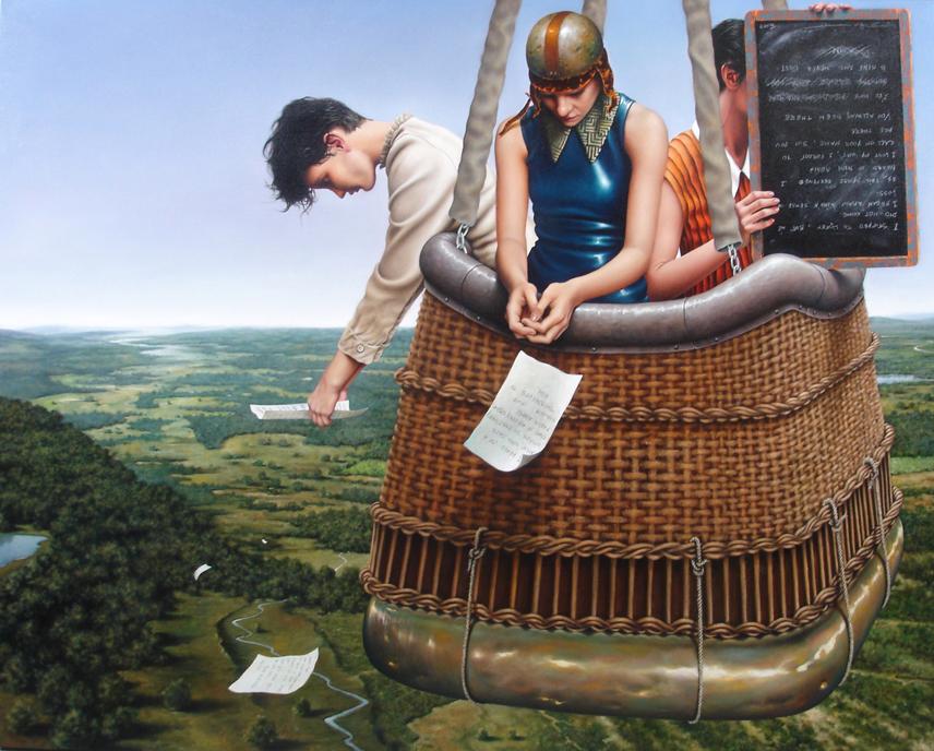 Экстравагантные картины Хорхе Сантоса (9 фото) 18+