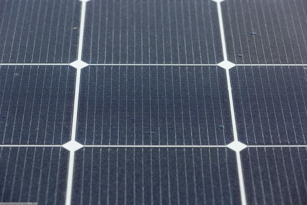 5. Солнечные модули соединяются последовательно.