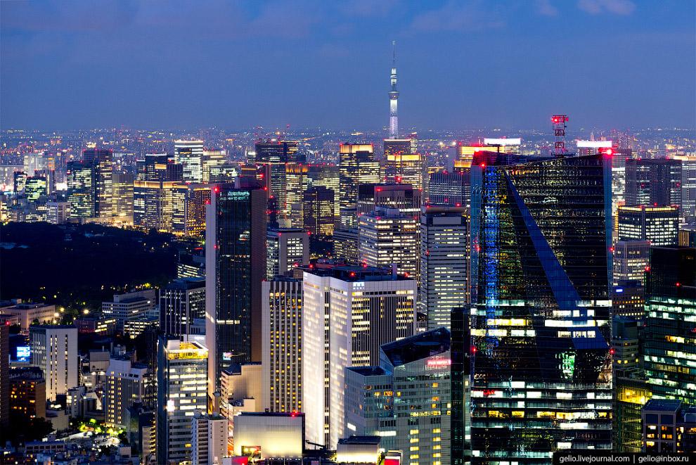 6. Токио является крупнейшей городской экономикой мира.