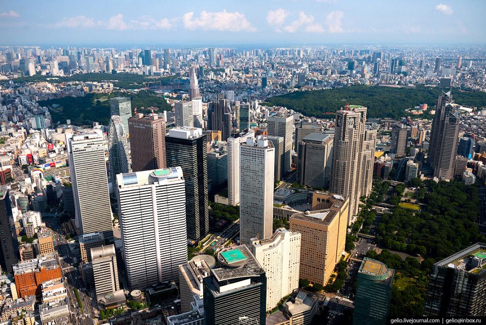 20.  Токийская мэрия (Tokyo Metropolitan Main Building Number)  — штаб-квартира столи