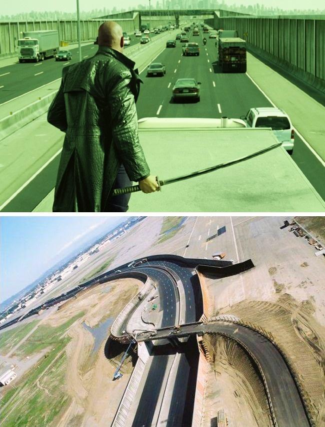Сцена из фильма «Матрица: Перезагрузка» с погоней на оживленном шоссе планировалась такой сложной, ч