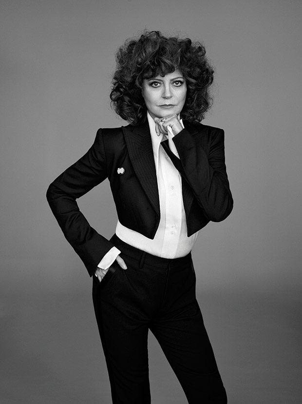 Сьюзан Сарандон в британском Elle (8 фото)