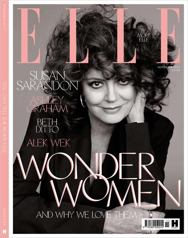 Сьюзан Сарандон в британском Elle