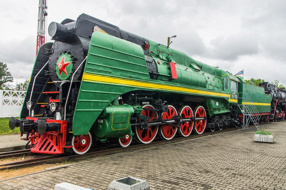 21. Паровоз Типа 1-5-1 серии ЛВ №0202. Построен в 1956 году на Ворошиловградском паровозостроительно