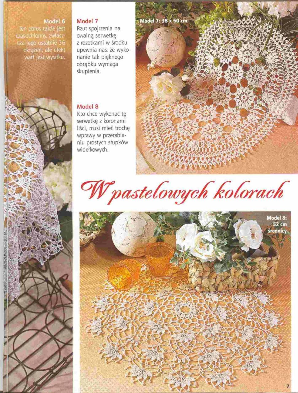 Журнал по вязанию крючком салфеток фото