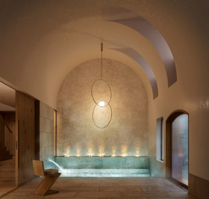 Interior architecture design of a cottage and subsequent Modernist house in Alella, Barcelona. Rural