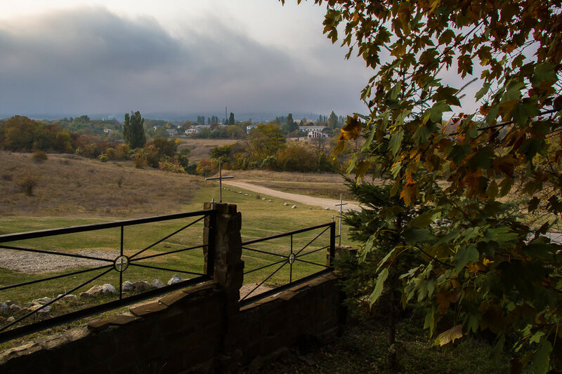 Низкая облачность над Старым Крымом