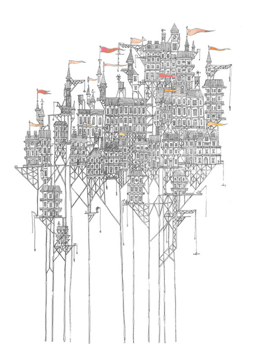 Architectural Drawings by David Fleck