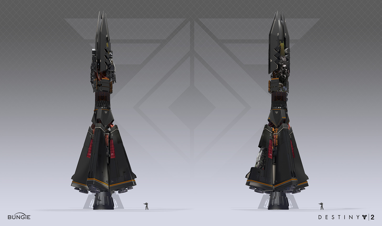 Destiny 2 Concept Art by Sung Choi