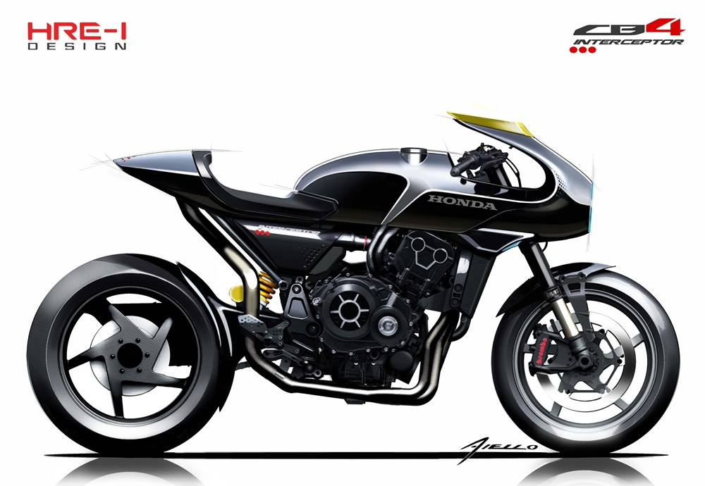 EICMA 2017: Концепт Honda CB4 Interceptor