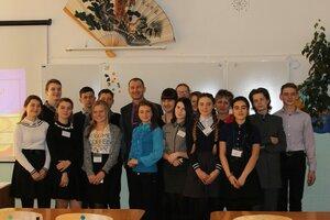 Встреча с молодыми избирателями в школе №2 2017 год