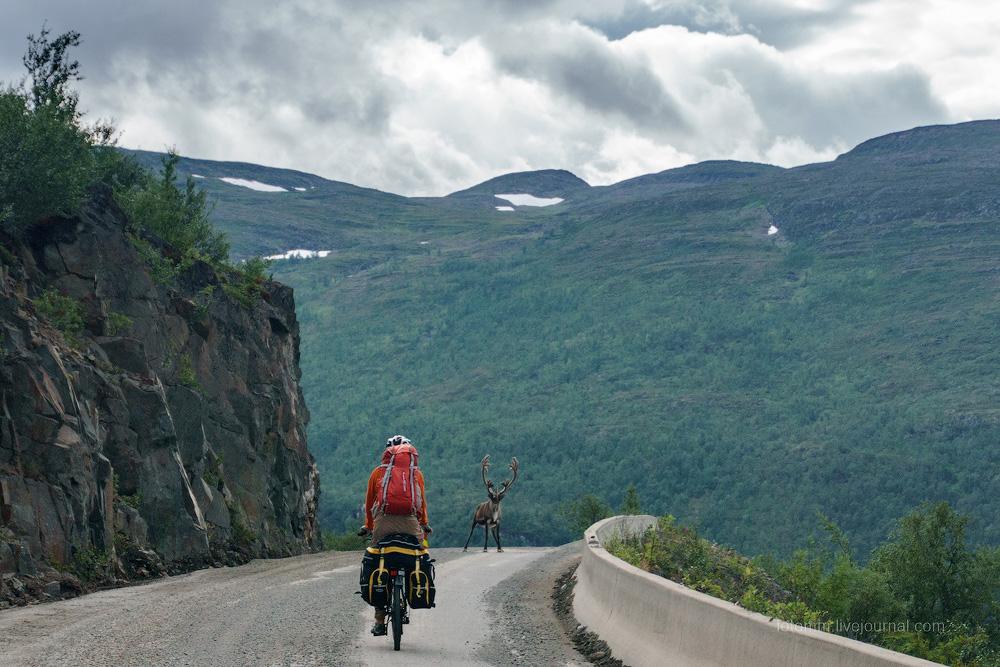 Норвежский велотрип. День первый.