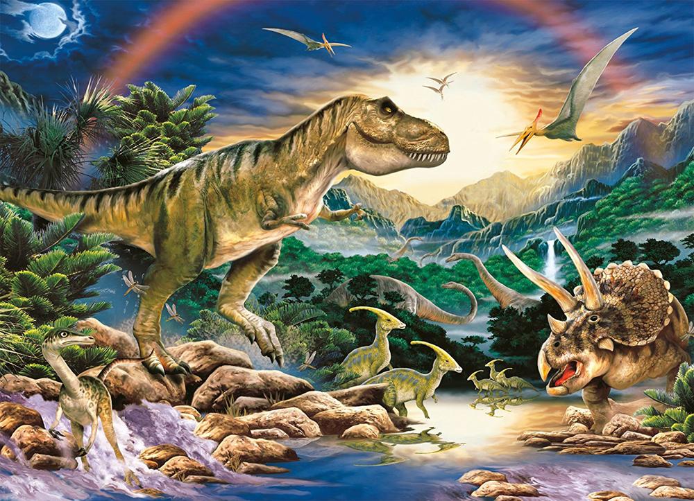 Картинки всех динозавров вместе