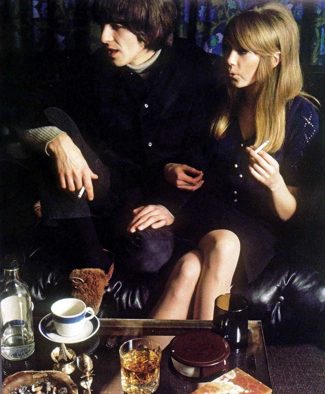1966. Джордж Харрисон & Патти Бойд
