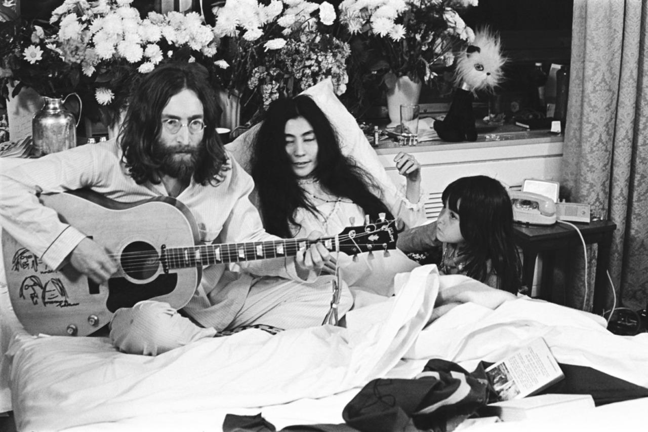 1968. Джон, Йоко и Кёко в Монреале