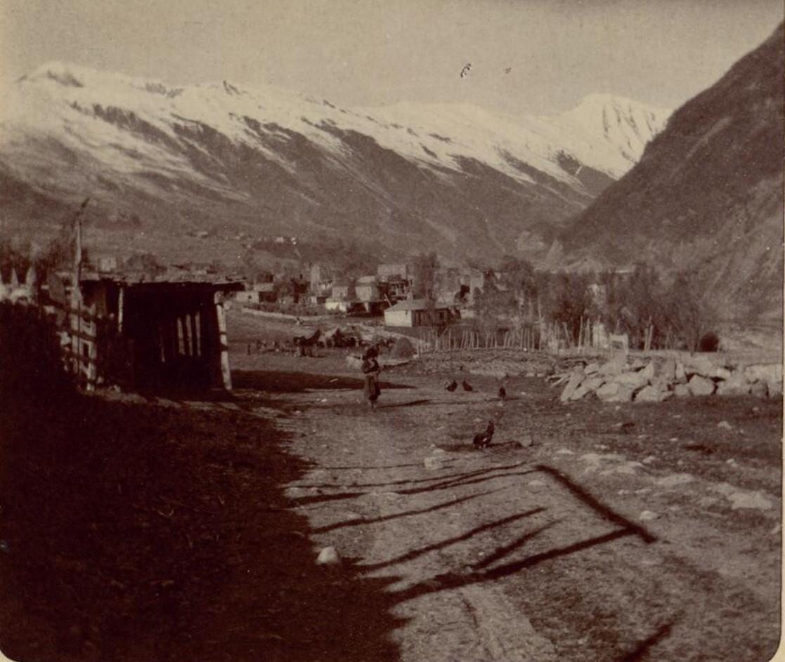 09. Военно-Грузинская дорога. Станция Млета