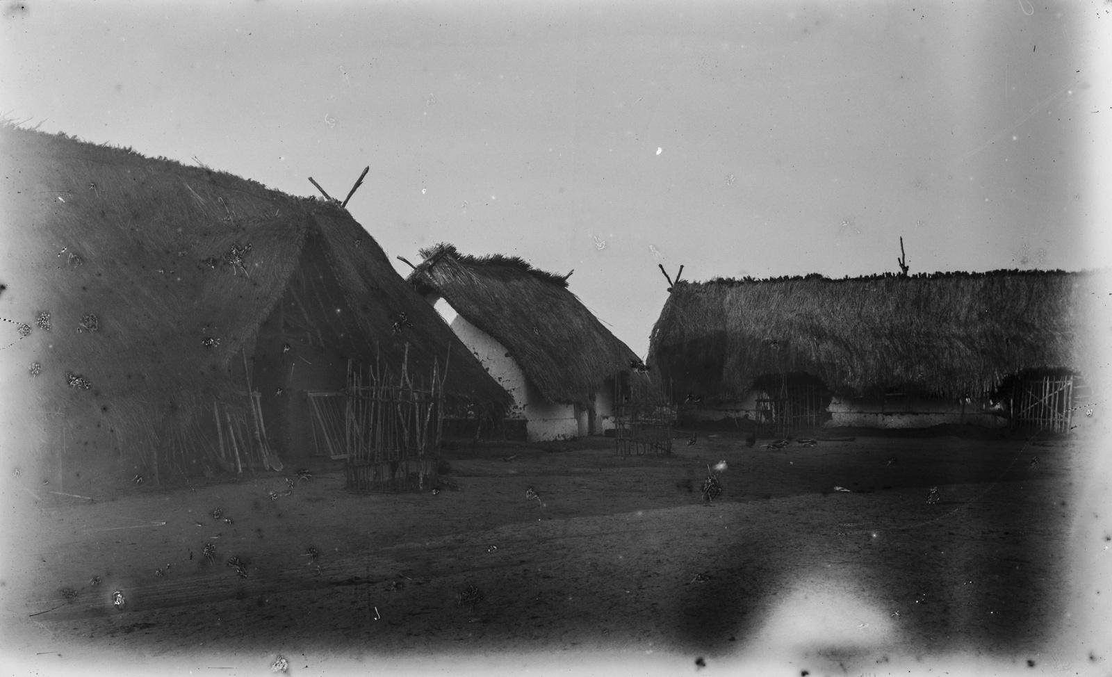 29. Поселение Корогве. Дома, построенные Германским обществом Восточной Африки