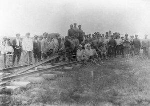 Окрестности Богородского. На строительстве железнодорожной ветки Кудьма-Богородское