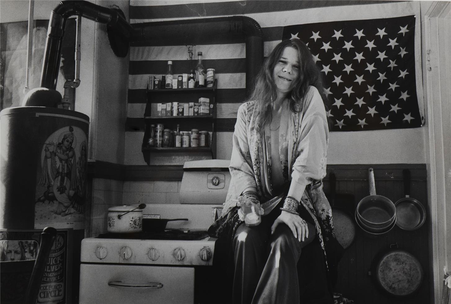 1969. Дженис Джоплин на кухне