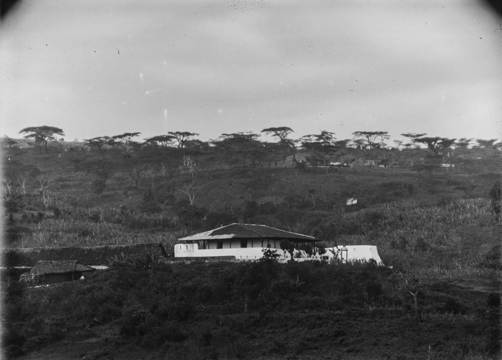 155. Станция немецкого общества Восточной Африки (ДОАГ) в Марангу