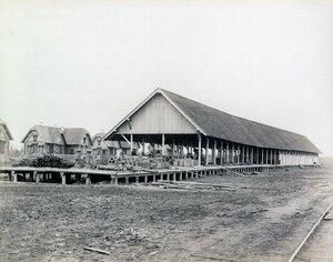 Станция Исакогорка, 586 верста, товарная платформа. 1894 - 1897