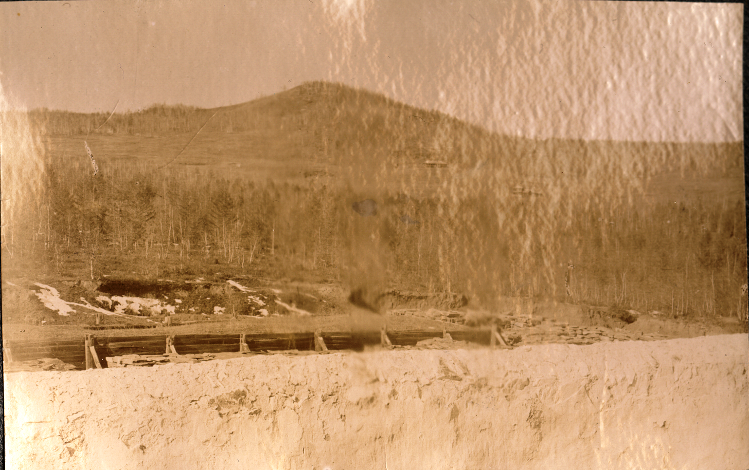 35. Зимний пейзаж окрестностей тюрьмы